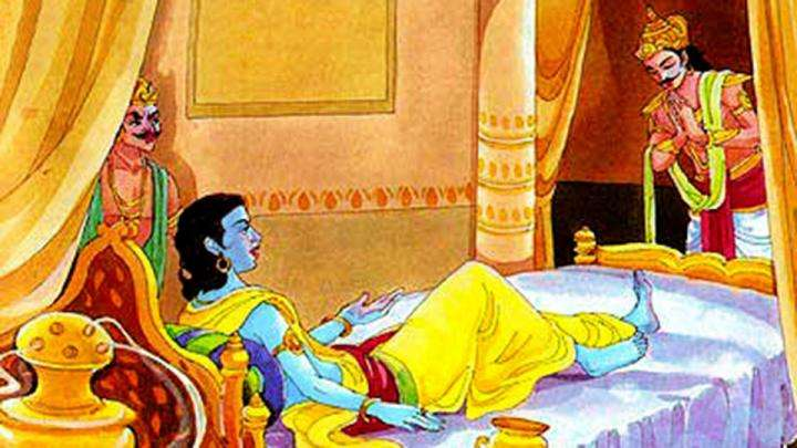 Duryodhana visits Krishna in Dwaraka - A story from the Mahabharat