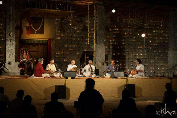 VV Subrahmanyam and ensemble at the Day 2 of Yaksha 2014