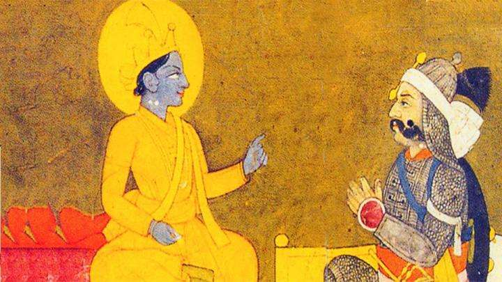 Krishna and Arjuna - The Bhagavad Gita and the Yoga of Devotion