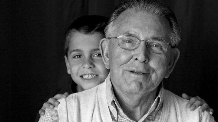Grandson and Grandfather - The Essence of Life and Death
