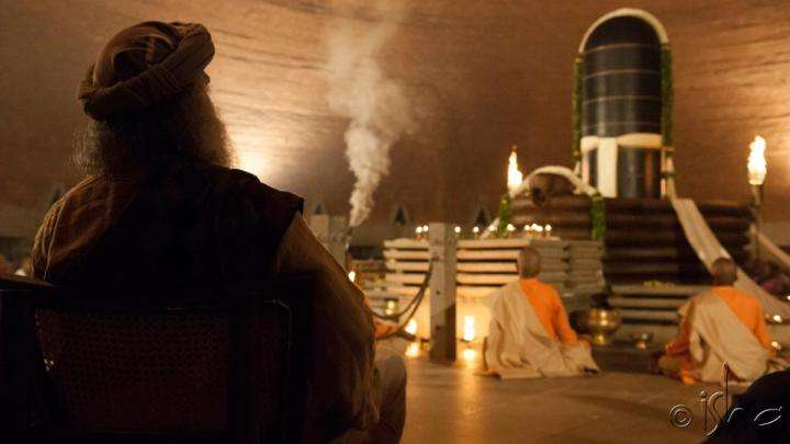 Sadhguru and Dhyanalinga - Lifetimes have passed by...