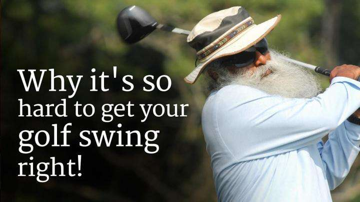 Why it's so hard to get your golf swing right!