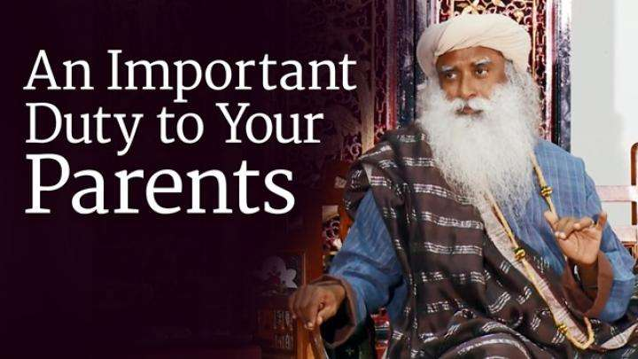 An Important Duty to Your Parents