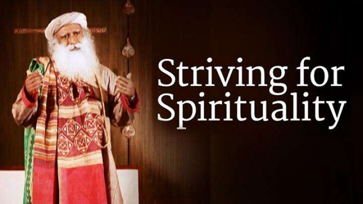 Striving for Spirituality