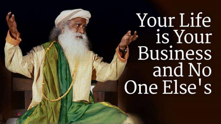 Karma: Your Life is Your Business and No One Else's