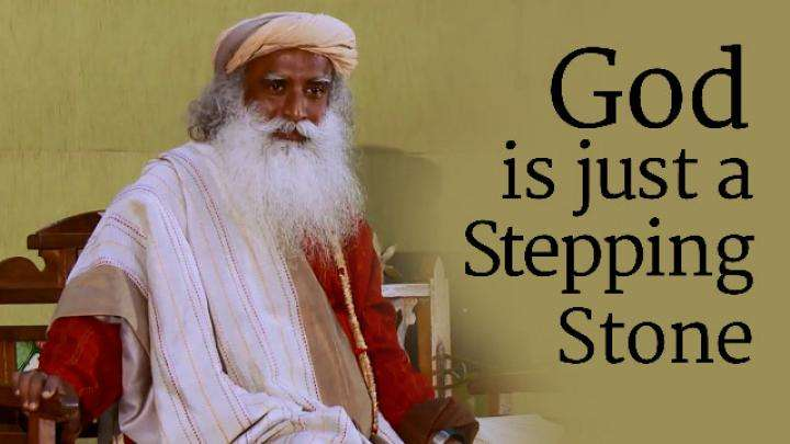 God is Just a Stepping Stone