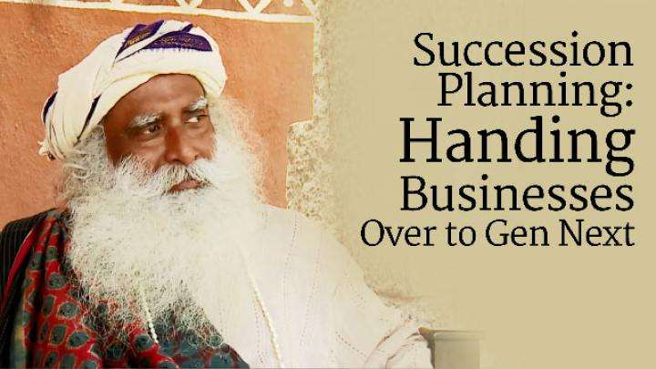 Succession Planning: Handing Businesses Over to Gen Next