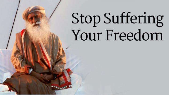 Stop Suffering Your Freedom