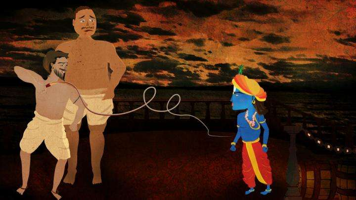 Krishna's Gurudakshina: Pirating the Pirates