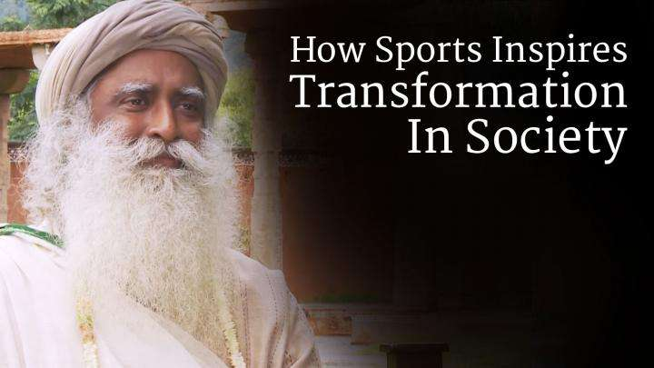 How Sports Inspires Transformation In Society