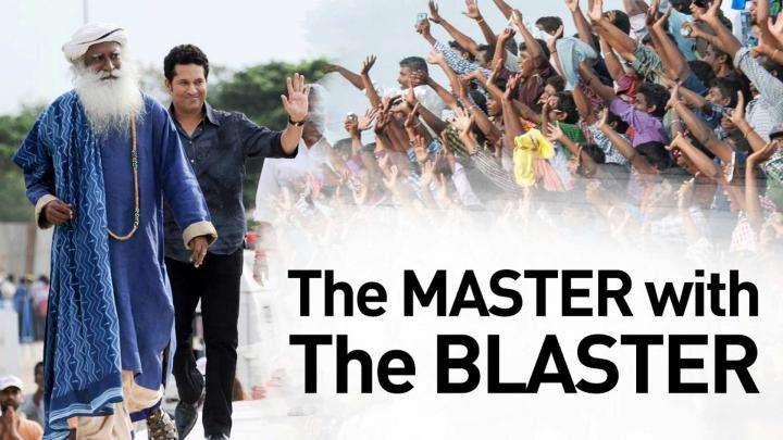 The Master with the Blaster!