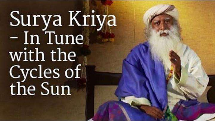 Surya Kriya - In Tune with the Cycles of the Sun