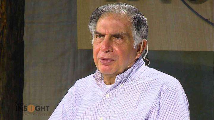 Ratan Tata on expanding your business @ INSIGHT