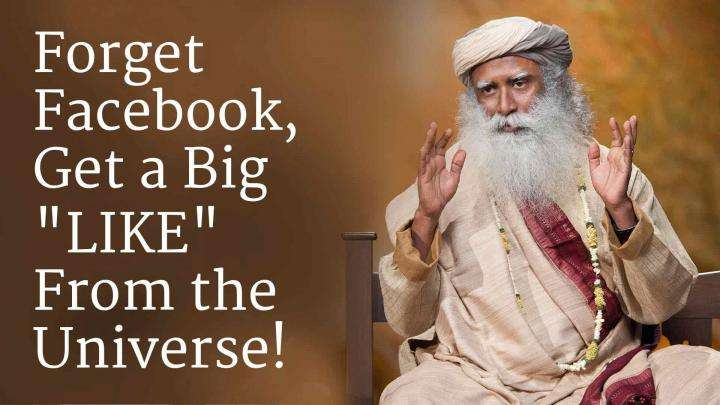 "Forget Facebook, Get a Big ""LIKE"" From the Universe!"