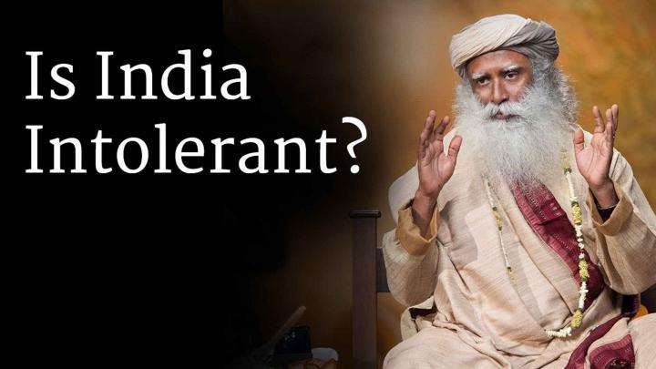 Is India Intolerant? – Sadhguru Answers