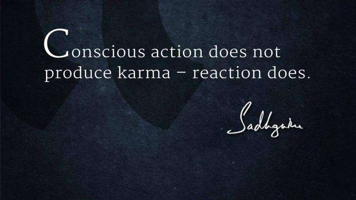 6 Sadhguru Quotes on Karma