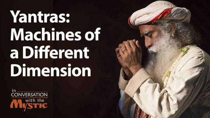Yantras: Machines of a Different Dimension