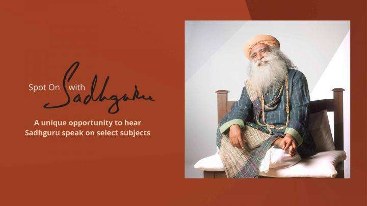 Spot On with Sadhguru 2016 Promo