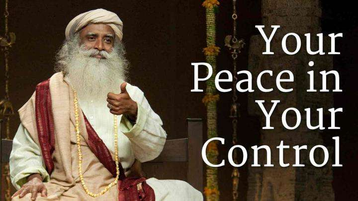 Your Peace in Your Control