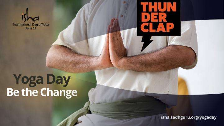 Be the Change on Yoga Day: Lend Us Your Voice