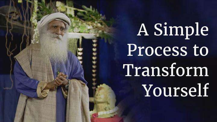 A Simple Process to Transform Yourself