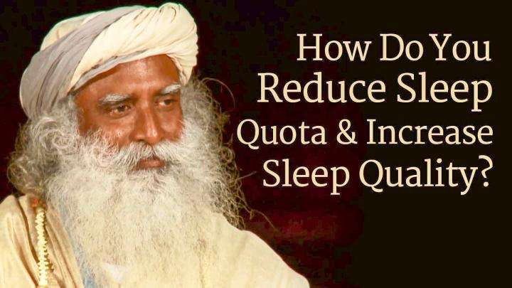 How Do You Reduce Sleep Quota and Increase Sleep Quality?