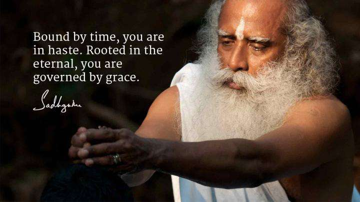 Sadhguru's Quotes on Grace