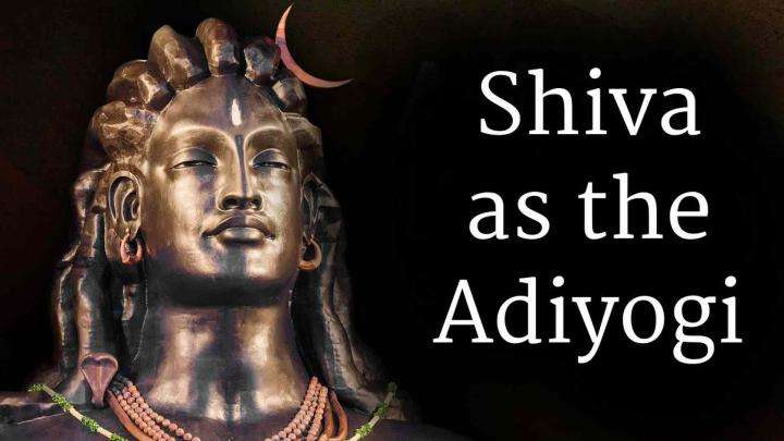 Shiva as the Adiyogi