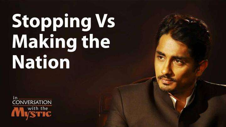 "Stopping vs Making ""The Nation"" 