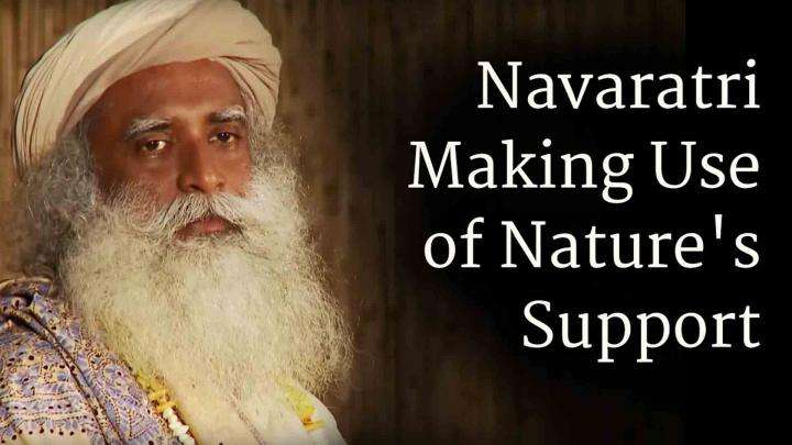 Navaratri, Making Use of Nature's Support