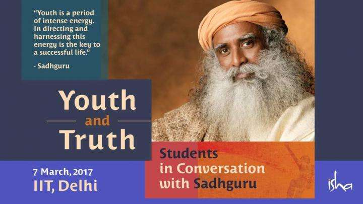 Youth & Truth - IIT Delhi Students in Conversation with Sadhguru