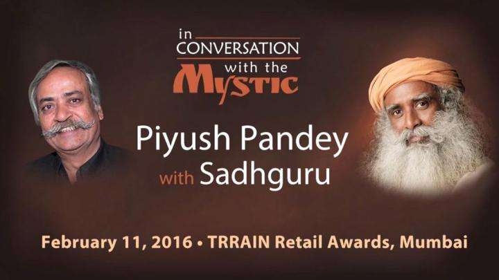 Piyush Pandey in Conversation with Sadhguru - TRRAIN Awards