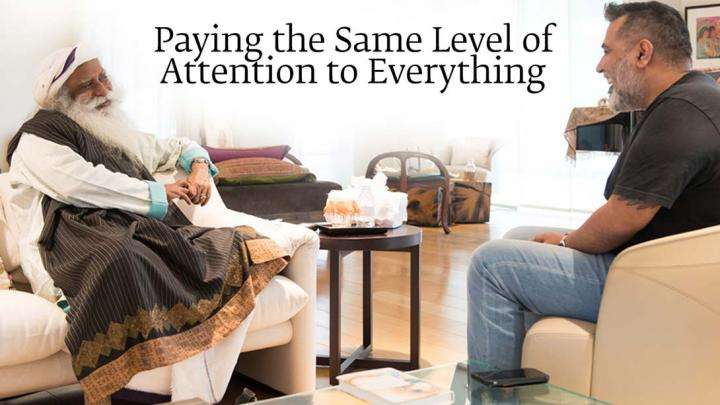 Paying the Same Level of Attention to Everything