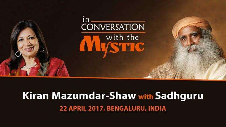 Kiran Mazumdar-Shaw In Conversation with Sadhguru