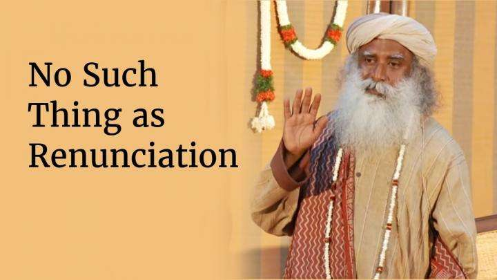 No Such Thing as Renunciation - Sadhguru at IIT Madras (Part III)