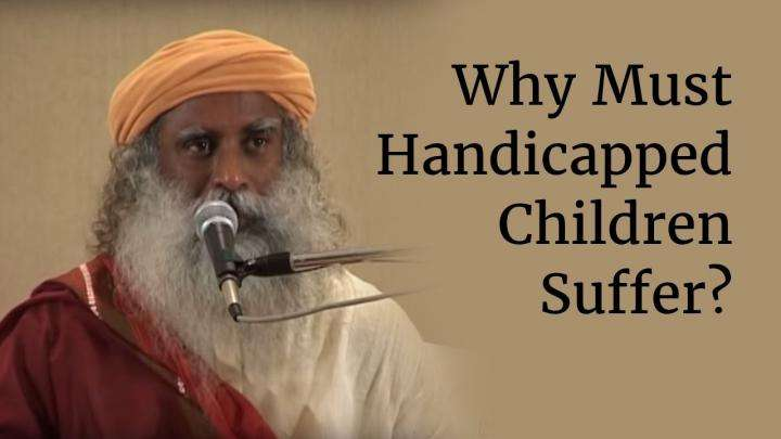 Why Must Handicapped Children Suffer?
