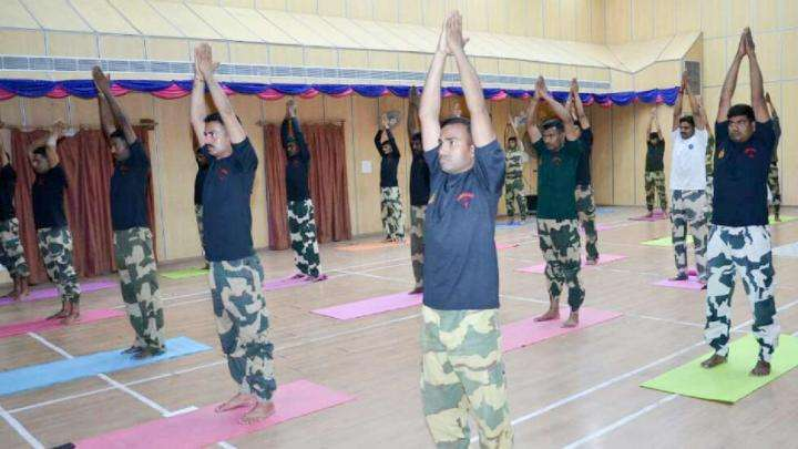 Offering Yoga to our Soldiers