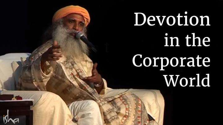 Devotion in the Corporate World