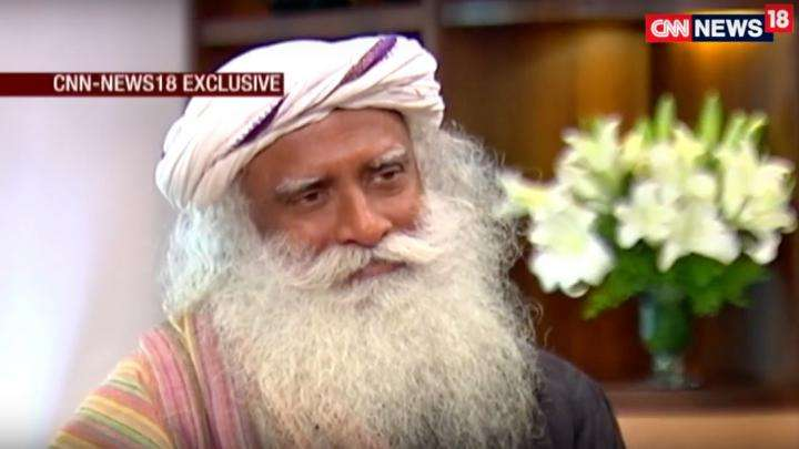 Zakka Jacob of CNN-News18 Interviews Sadhguru on Rally for Rivers