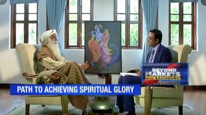 Nikunj Dalmia of ET NOW Interviews Sadhguru on Rally for Rivers