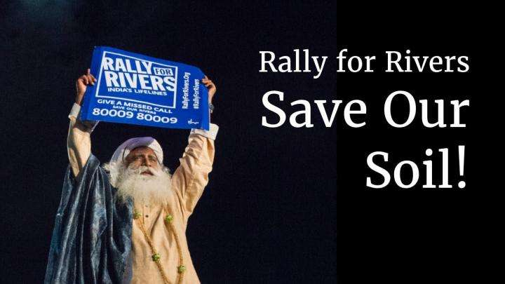 Rally for Rivers - Save Our Soil