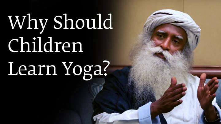 Why Should Children Learn Yoga?
