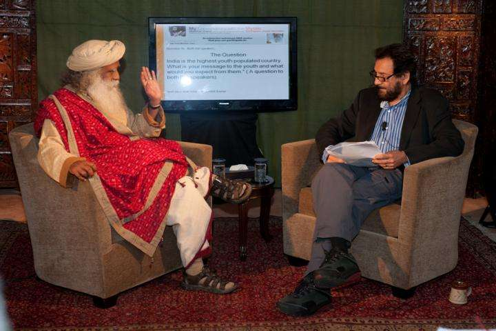shekhar and sadhguru