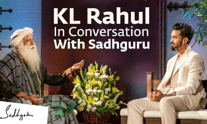 sadhguru wisdom video | kl rahul in conversation with sadhguru | cauvery calling