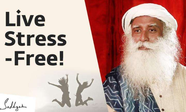 sadhguru wisdom video | live stress-free - inner engineering completion with sadhguru