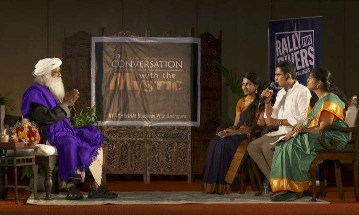 In Conversation with Students at IIT Madras