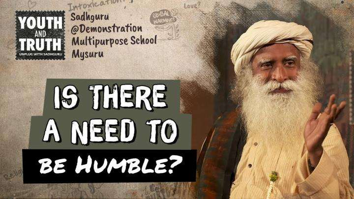 Is There a Need to be Humble?