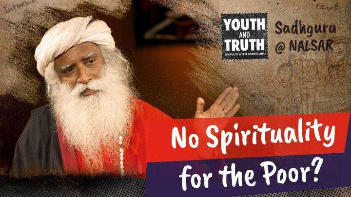 Is Spirituality Only For The Rich?
