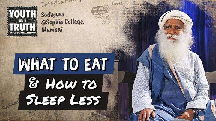 Tips to Eat Right & Sleep Less For Students