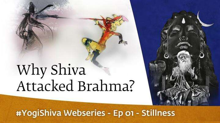 Why Shiva Attacked Brahma